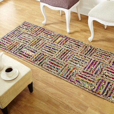 Criss Cross Area Rug Rug Size: Runner 2 x 6