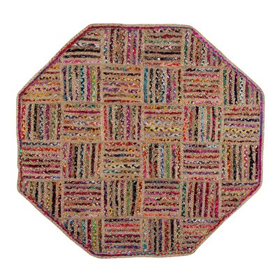 Criss Cross Area Rug Rug Size: Octogonal 5 x 5