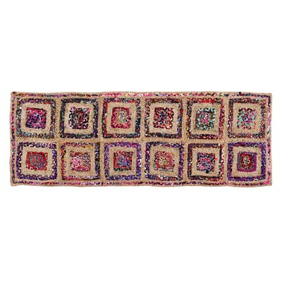 Diamond Area Rug Rug Size: Runner 2 x 6