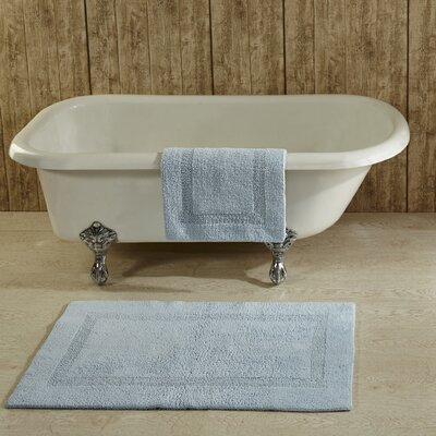 Campos Bath Mat Size: 21 x 34, Color: Blue