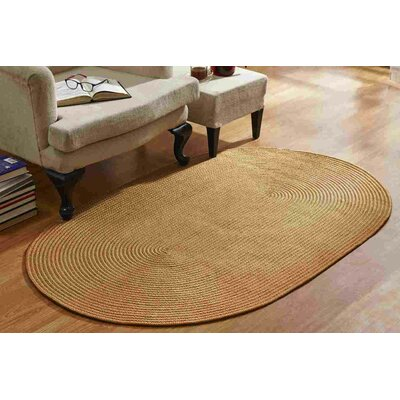 McClure Braided Straw Area Rug Rug Size: Rectangle 54 x 84