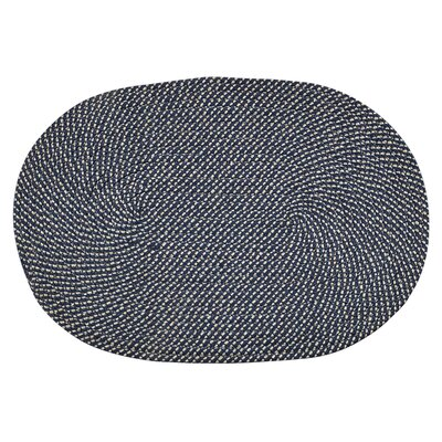 Palm Spring Navy Area Rug Rug Size: Rectangle 17 x 26