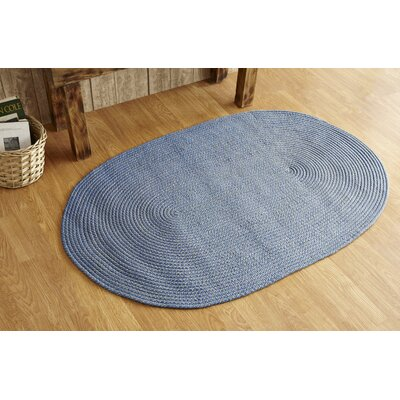 Palm Spring Wedgewood Area Rug Rug Size: Rectangle 5 x 7