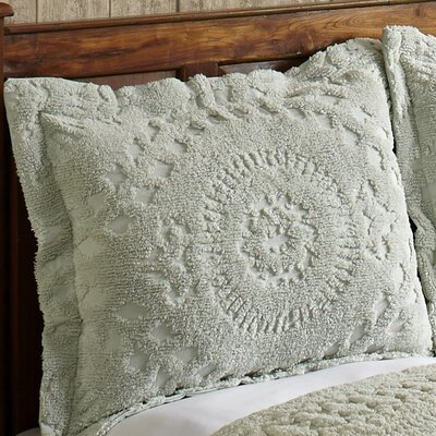 Faunia Cotton Sham Color: Sage