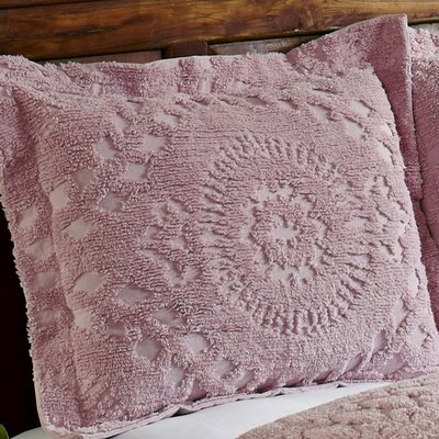 Faunia Cotton Sham Color: Pink