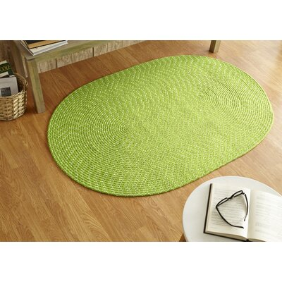 Sunsplash Lime Area Rug Rug Size: Round 8 x 8