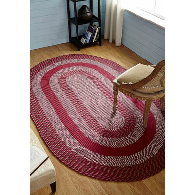 Newport Barn Red Indoor/Outdoor Area Rug