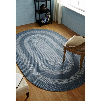 Newport Slate Indoor/Outdoor Area Rug Rug Size: 110 x 34