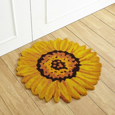 Sunflower Coir Doormat