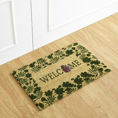 Lady Bug Welcome Doormat