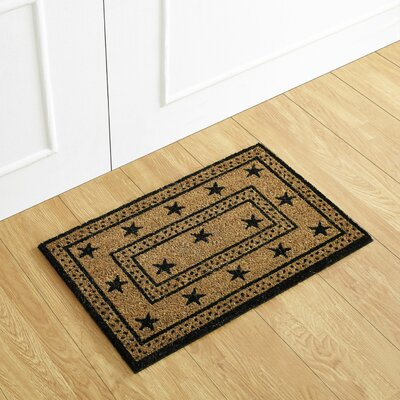 Country Star Coir Doormat
