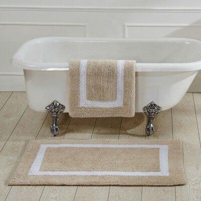 Hotel Bath Rug Size: 20 x 60, Color: Sand
