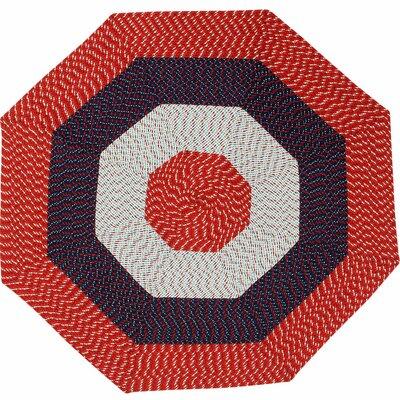 McClure Stripe Area Rug Rug Size: Octagonal 8