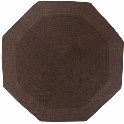 McClure Brown Area Rug Rug Size: Octagonal 8