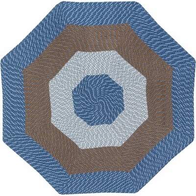 McClure Stripe Chambray Area Rug Rug Size: Octagonal 8