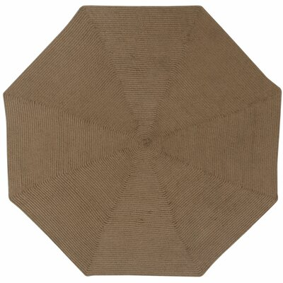 McClure Cocoa Area Rug Rug Size: Octagonal 8