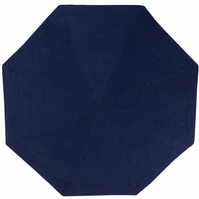 McClure Blue Area Rug Rug Size: Octagonal 8