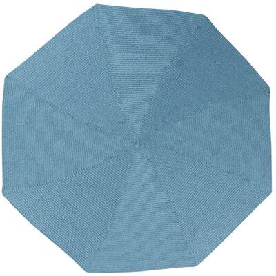 McClure Light Blue Area Rug Rug Size: Octagonal 6