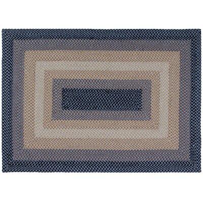 Monnie Blue Area Rug Rug Size: 5 x 7
