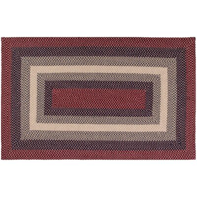 Monnie Cranberry Area Rug Rug Size: 18 x 26