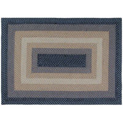 Monnie Blue Area Rug Rug Size: 18 x 26
