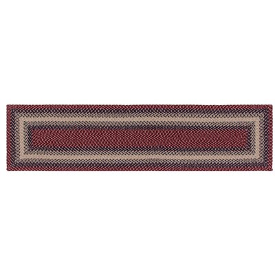 Monnie Cranberry Area Rug Rug Size: Runner 2 x 8
