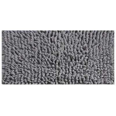 Noelle Bath Rug Color: Gray