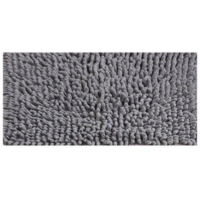 Noelle Bath Rug Color: Gray