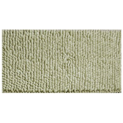 Noelle Bath Rug Color: Sage