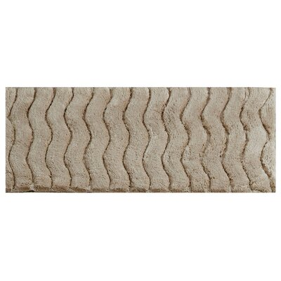 Woodbury Bath Rug Size: 20 X 60, Color: Sand