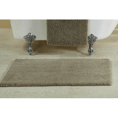 Berrywood Tufted Bath Rug Size: 21 W x 34 L, Color: Charcoal