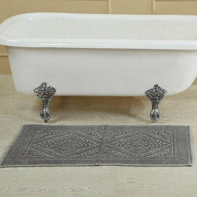 Bessler Stone Wash Bath Rug Size: 21 W x 34 L, Color: Sage