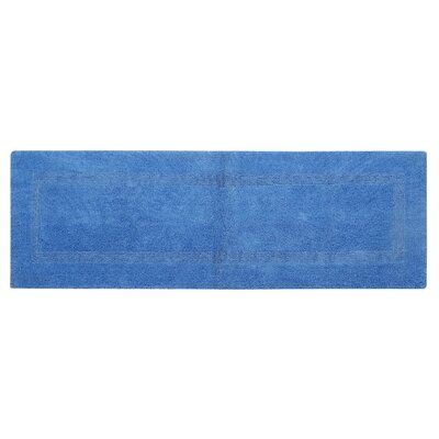 Rozanne Bath Rug Color: Blue