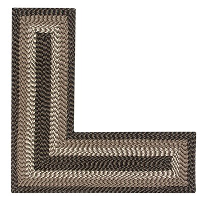 Vienne Chocolate Area Rug Rug Size: L-Shaped 2 x 5
