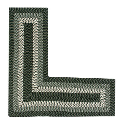 Vienne Hunter Area Rug Rug Size: L-Shaped 2 x 5