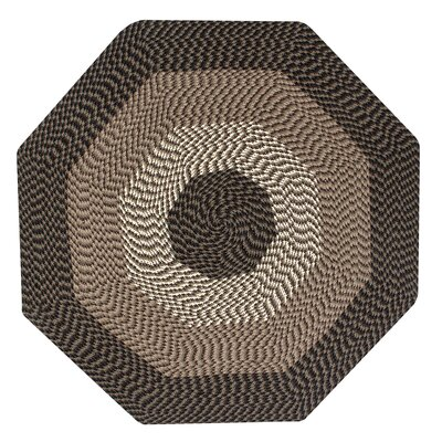Vienne Chocolate Area Rug Rug Size: Octagonal 4