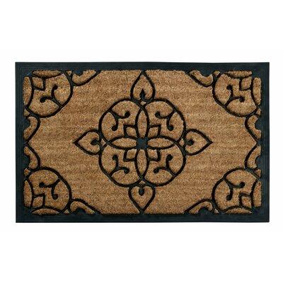 Seppe Iron Gate Design Coir Doormat