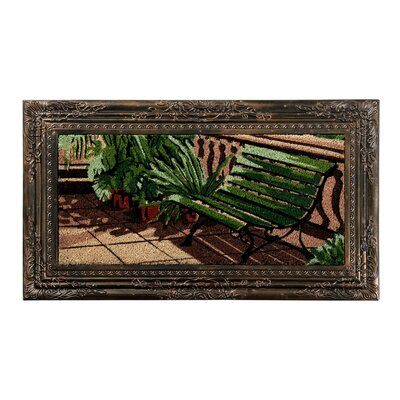 Blythewood Bench Painting Coir Doormat