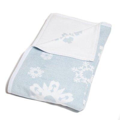 Holliday Snowflakes Cotton Blend Blanket