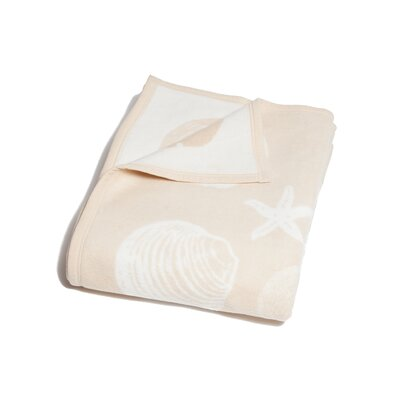 Marlowe Seashell Cotton Blend Blanket