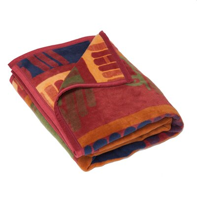 Dewsbury Library Books Cotton Throw Blanket
