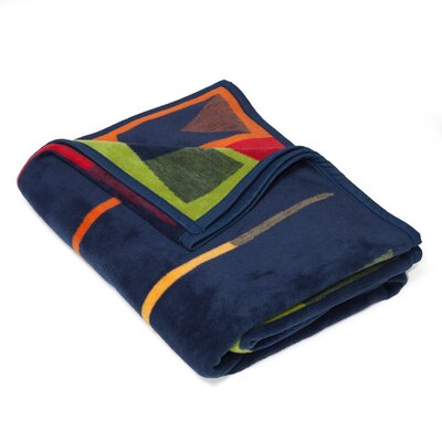 Dewolf Crew Oars Cotton Throw Blanket