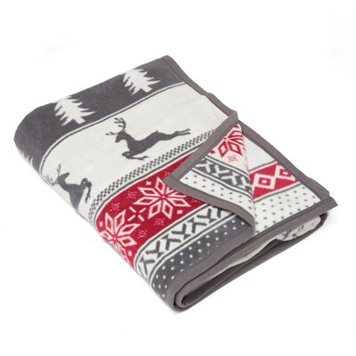 Pratt Winter Wonderland Cotton Blend Blanket