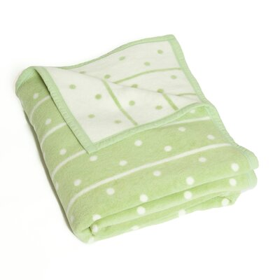 Rebel Long Point Throw Blanket Color: Celery