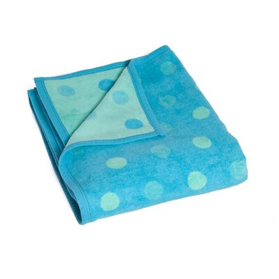 Burkeville Polka Dot Calm Throw Blanket