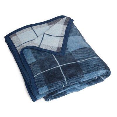 Minnie Watch Plaid Blanket