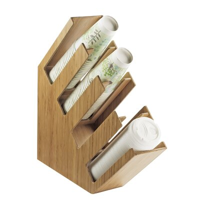 Wood Cup/Lid Holder 2048-4-60