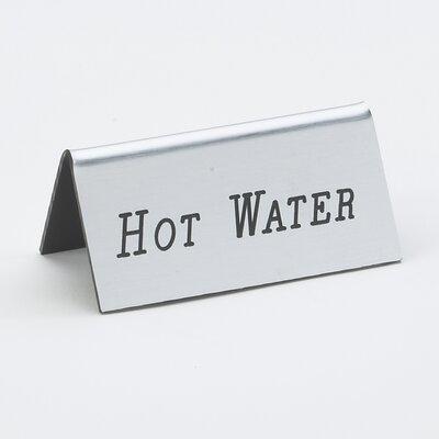 Hot Water Beverage Tent Color: Silver/Black