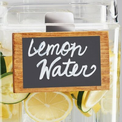 Beverage Display Sign (Set of 3)
