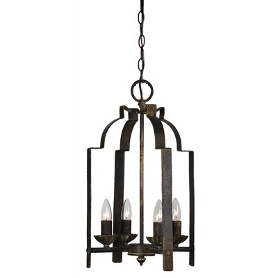 Weissport 4-Light Foyer Pendant